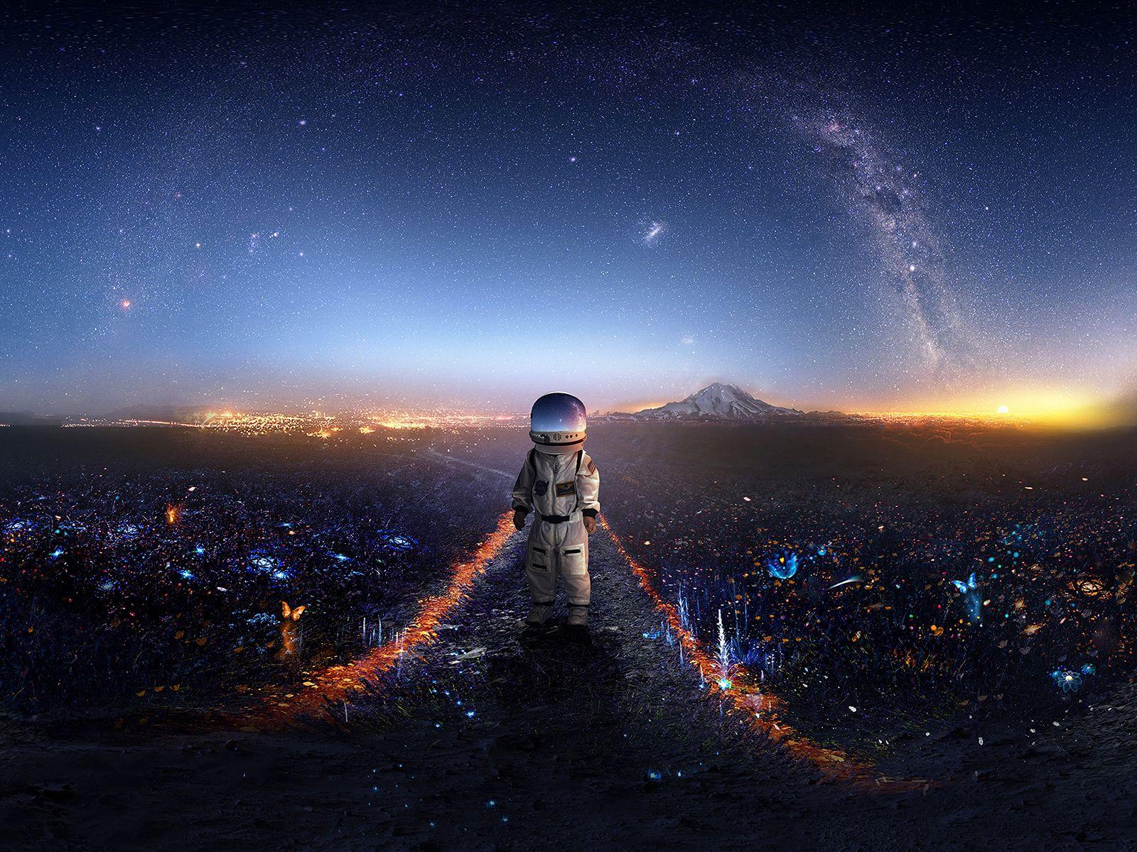 Galaxy Astronaut