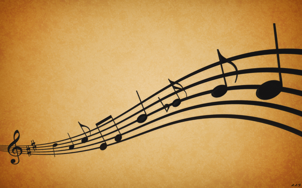 Awesome Music Note Backgrounds