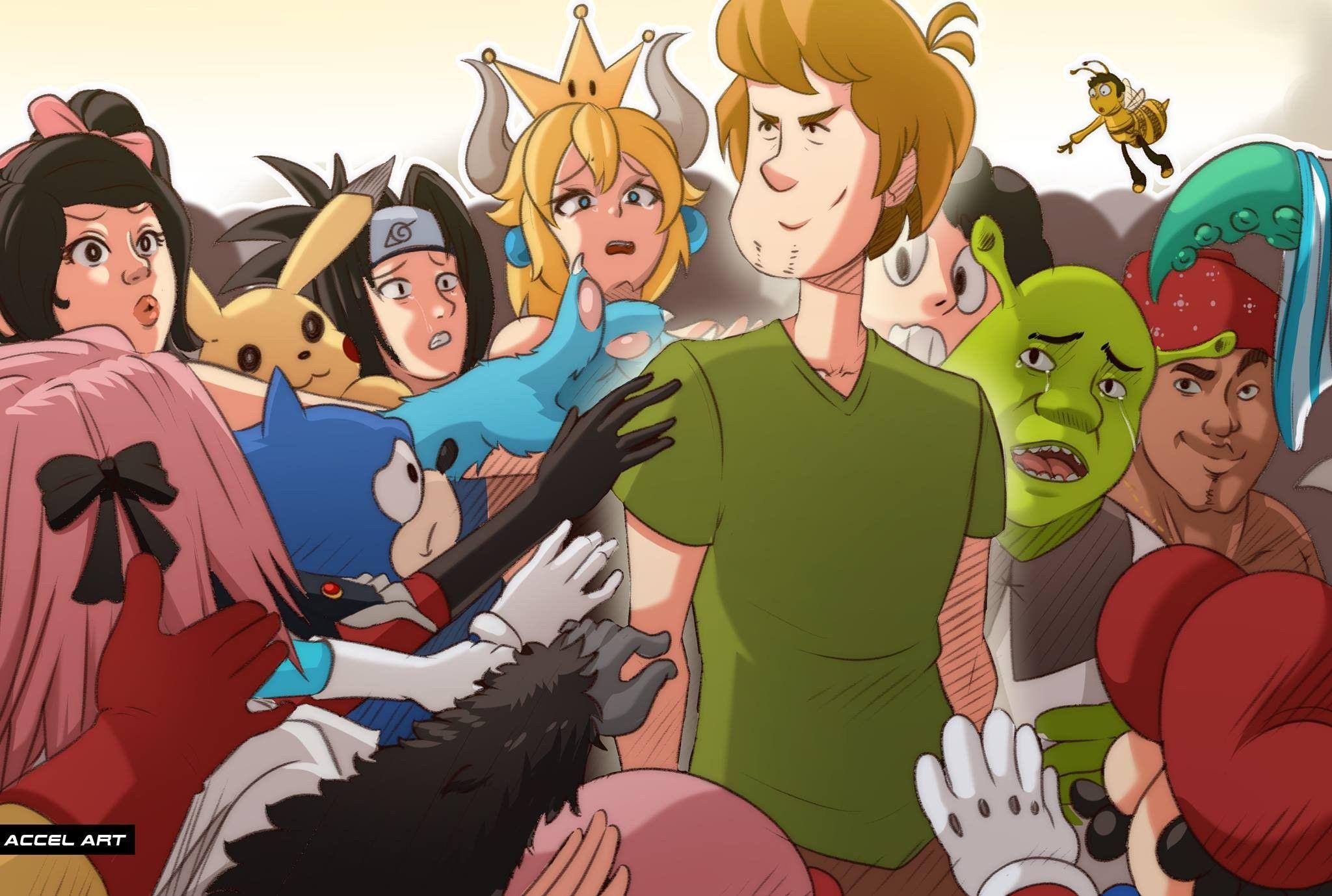 Shaggy Scooby Doo Anime