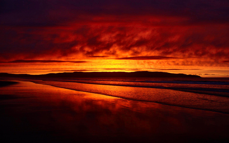 Sunset HD Background 1080P