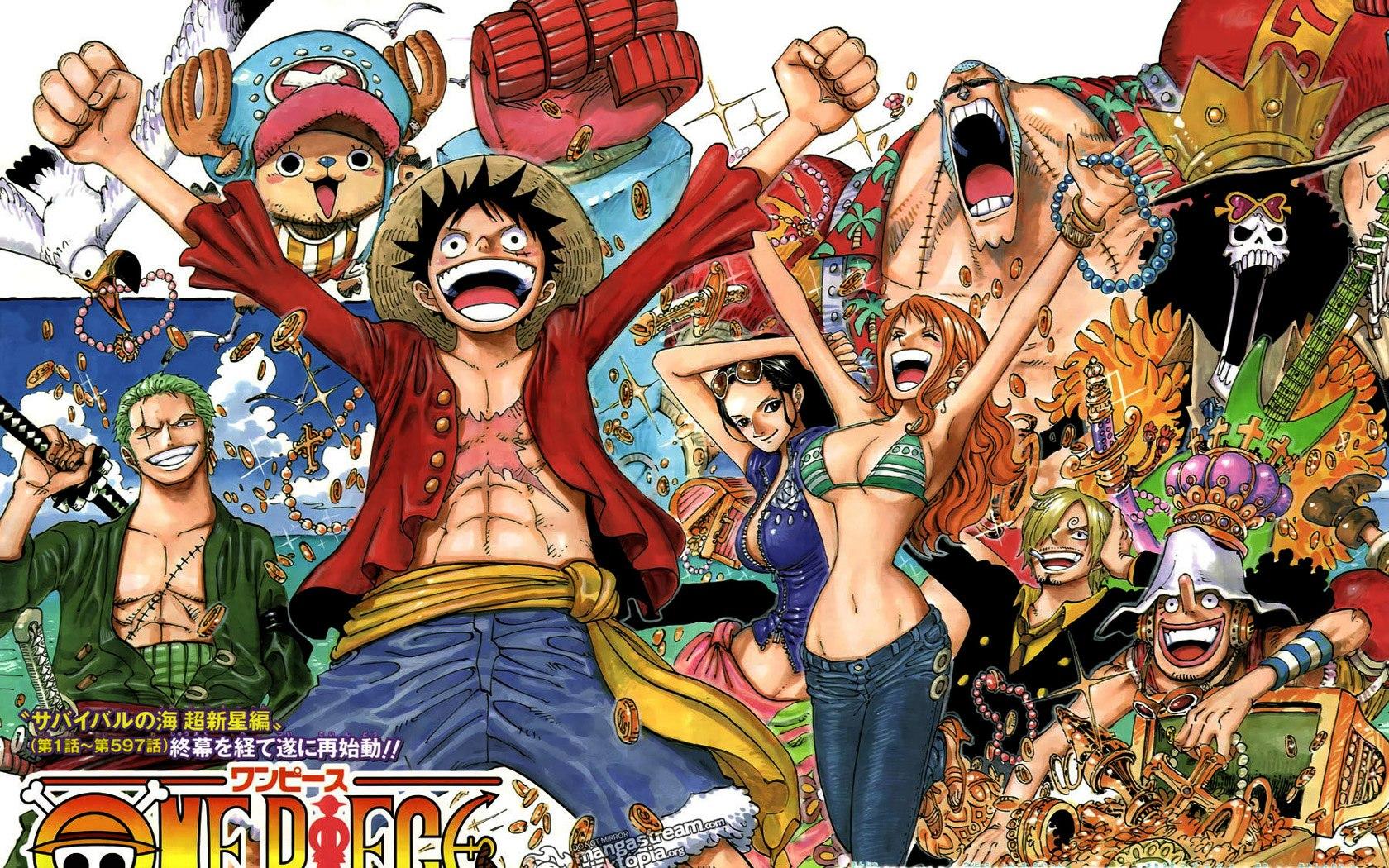 One Piece Laptop Background
