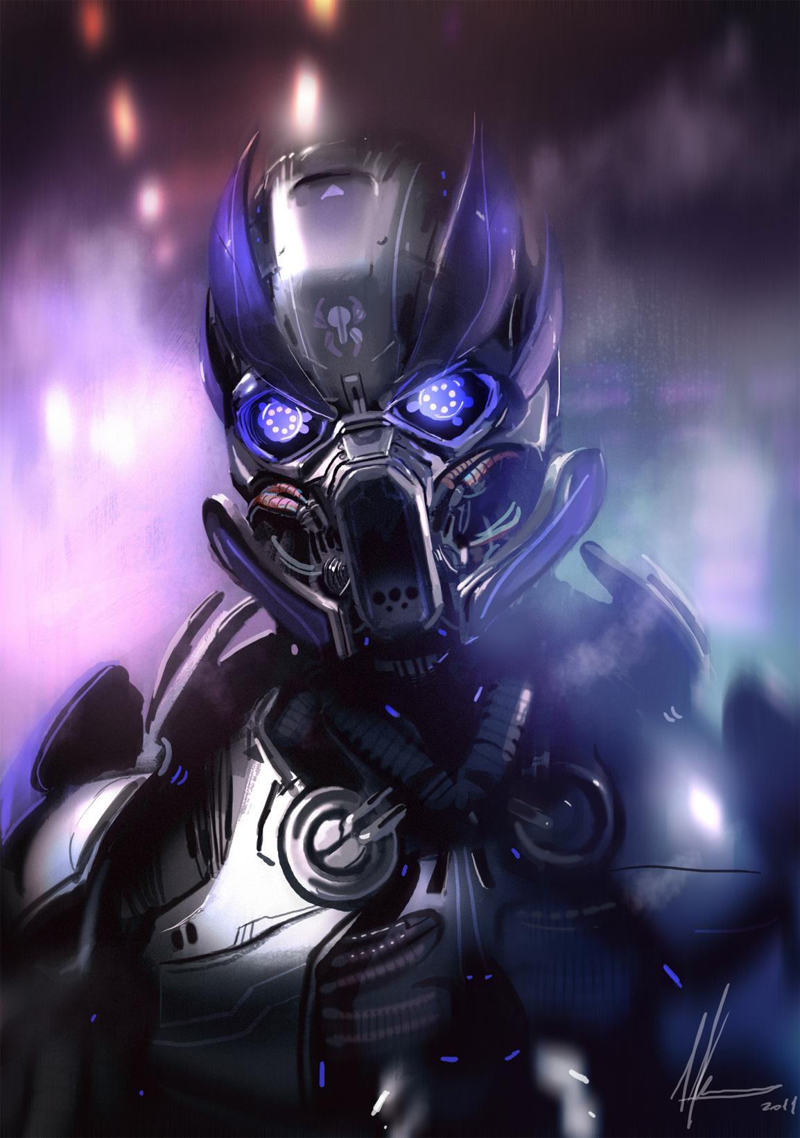 Digital Art Robot