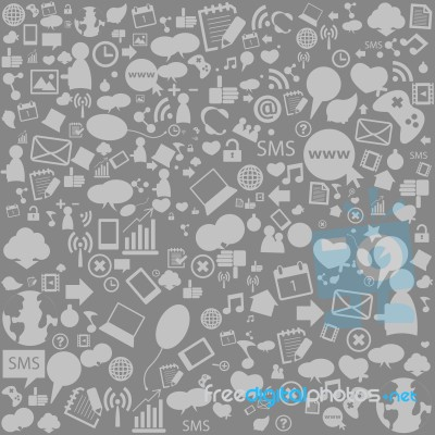Digital Media Background
