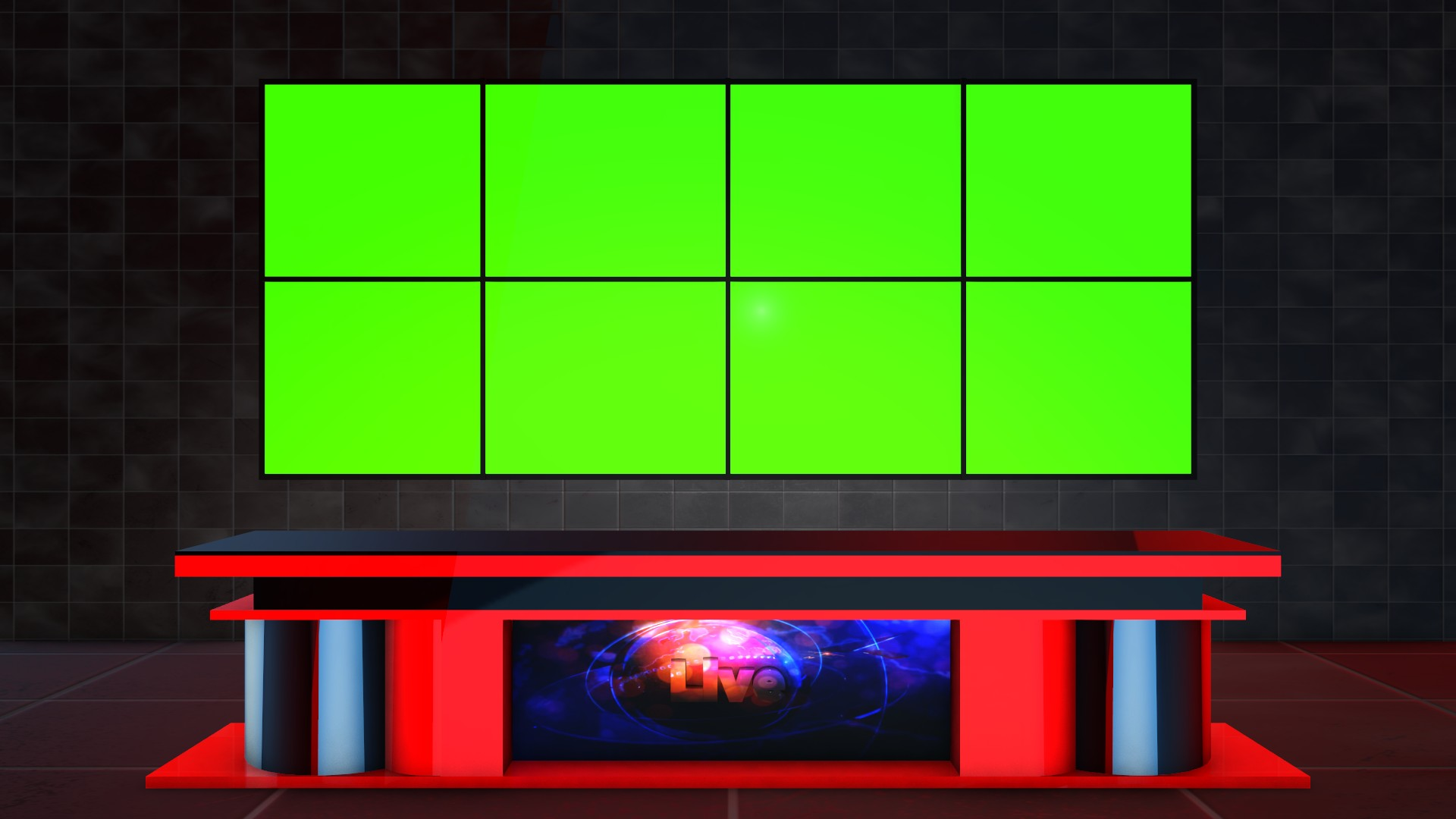 Free Green Screen Studio Backgrounds