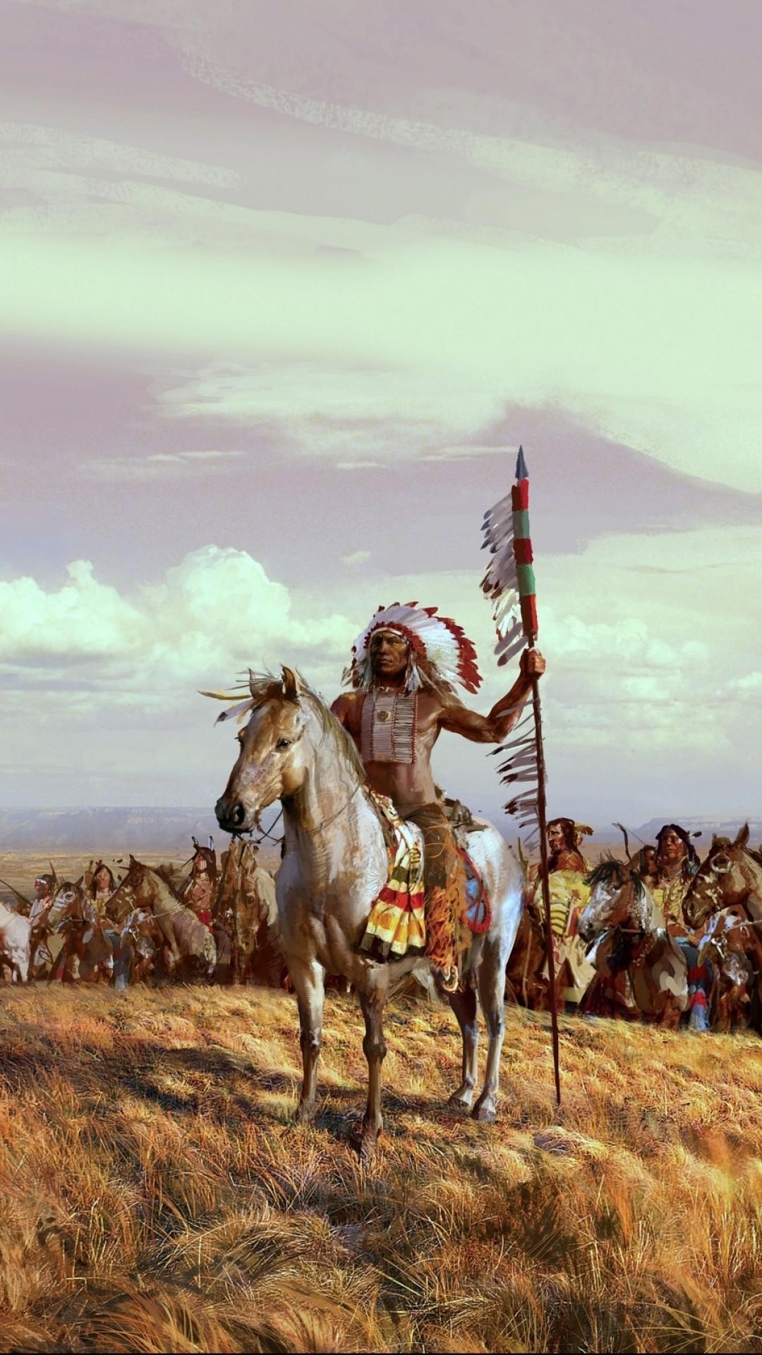 Native American iPhone Wallpaper