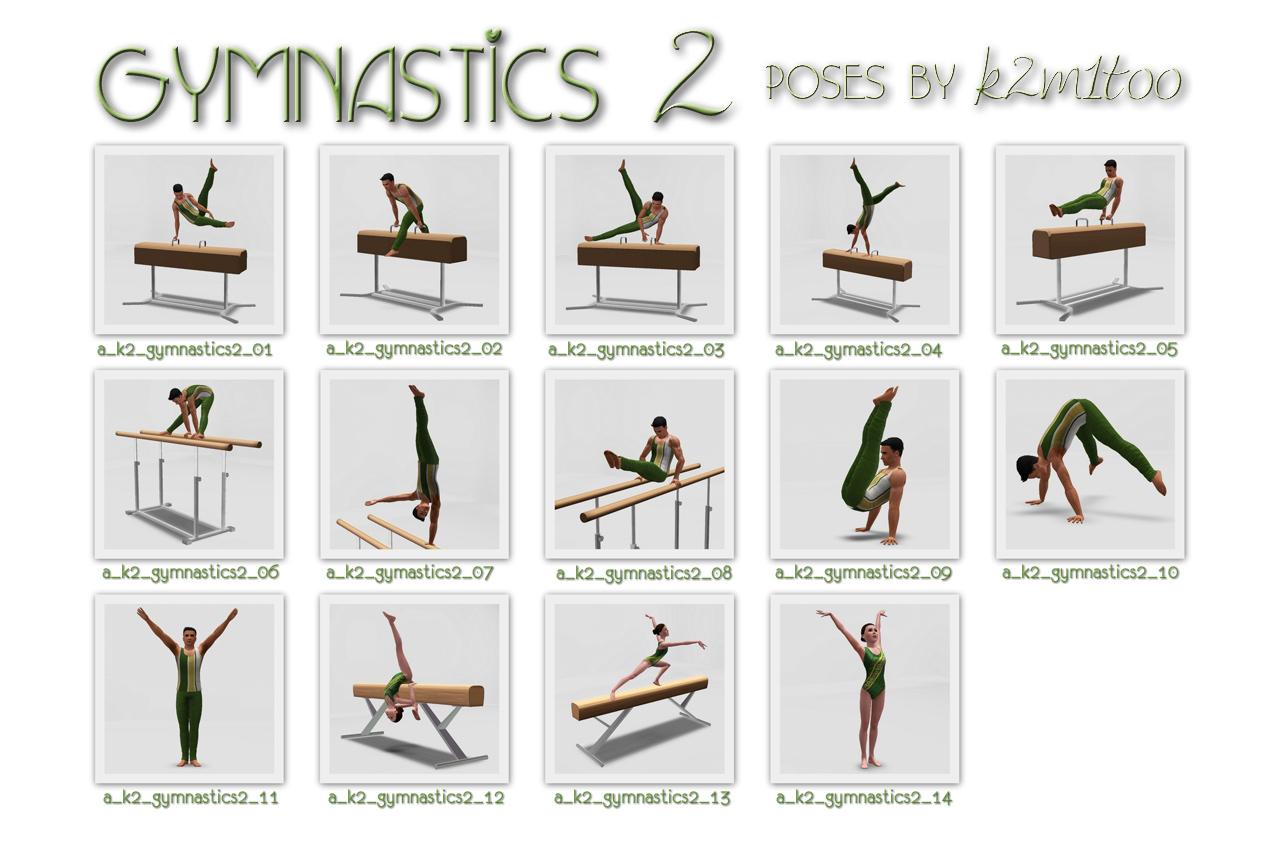 Gymnastics Moves Names