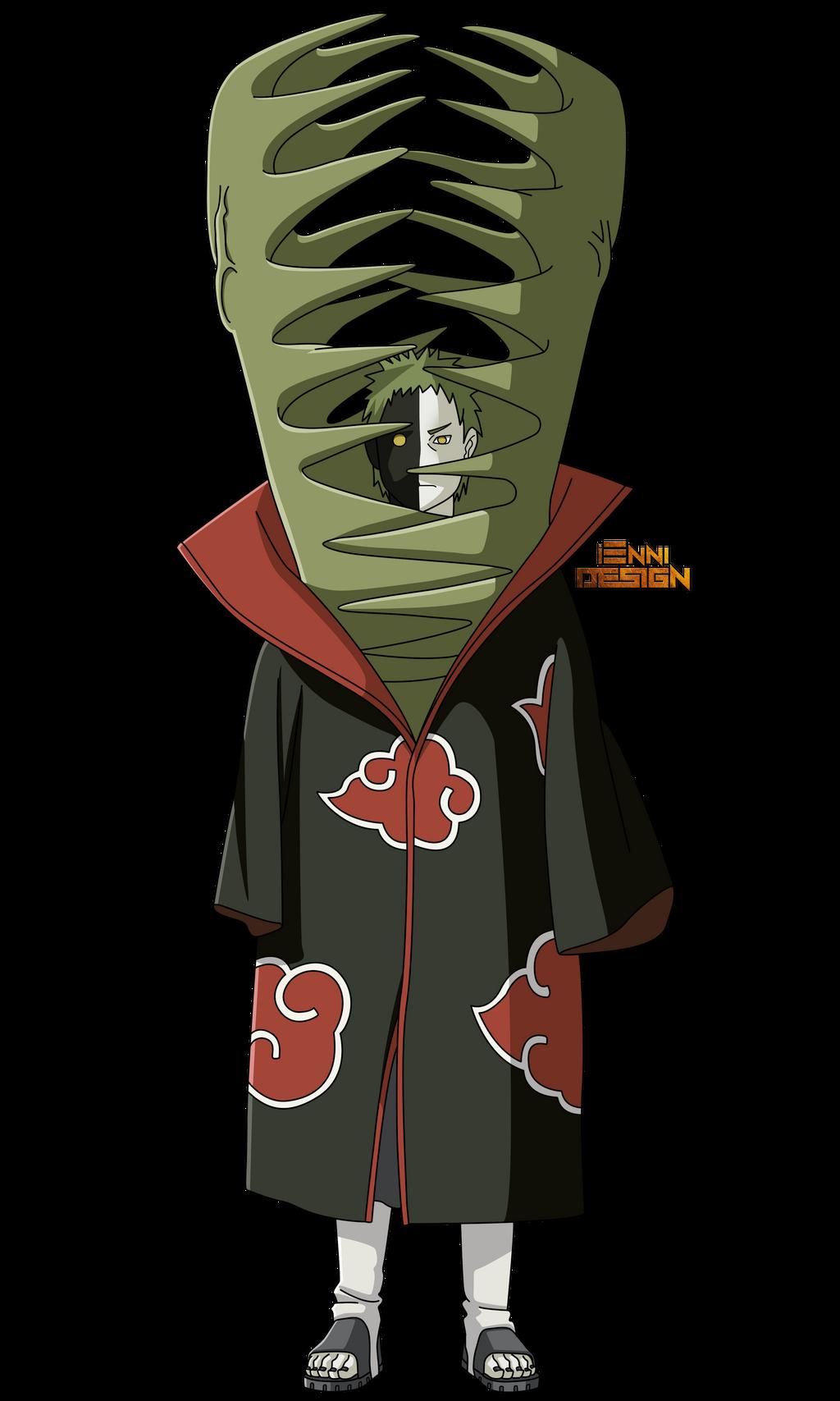 Naruto Akatsuki Zetsu