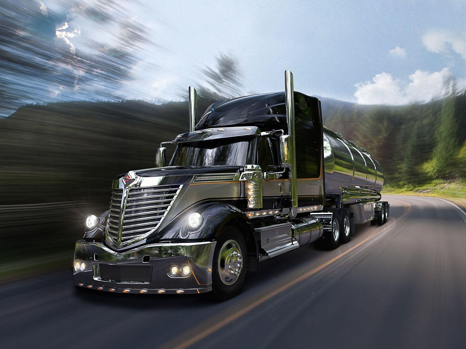 Big Truck Desktop Wallpaper
