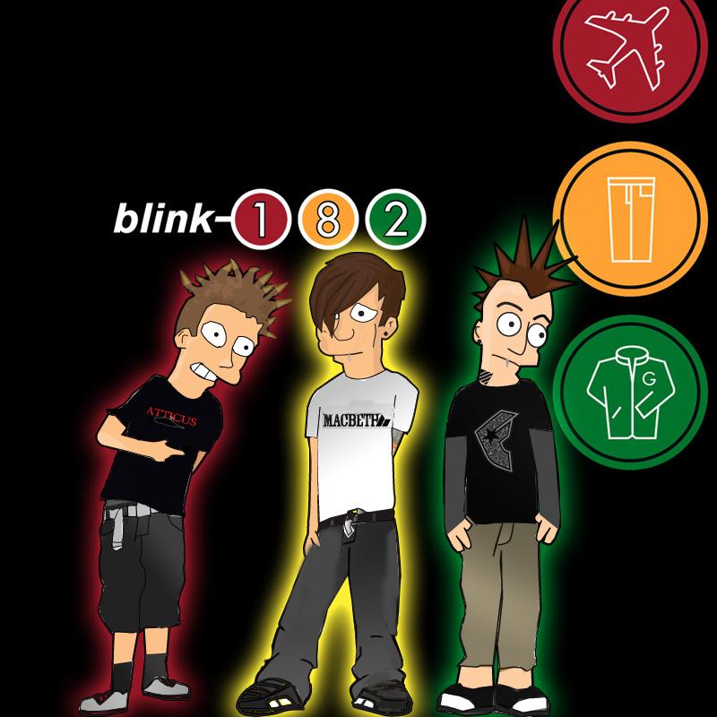 Blink 182 Cartoon
