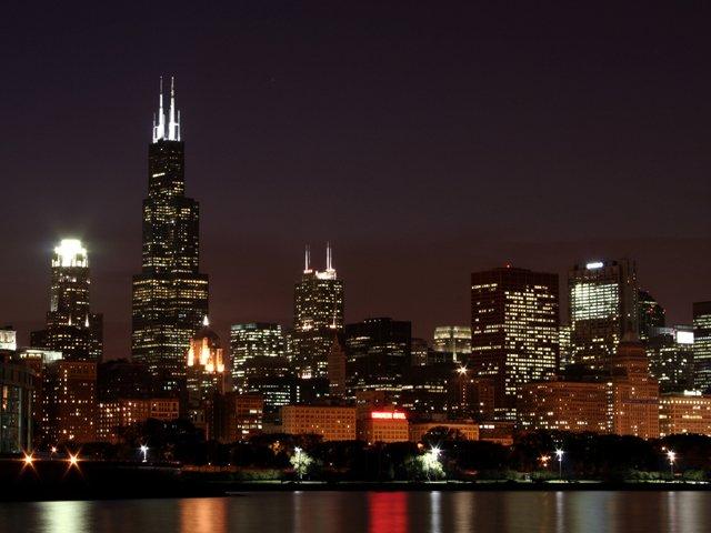 Chicago Skyline Screensavers Free