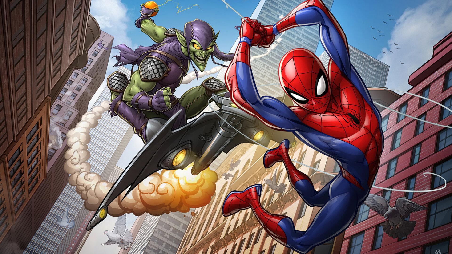 Animated Marvel Wallpaper