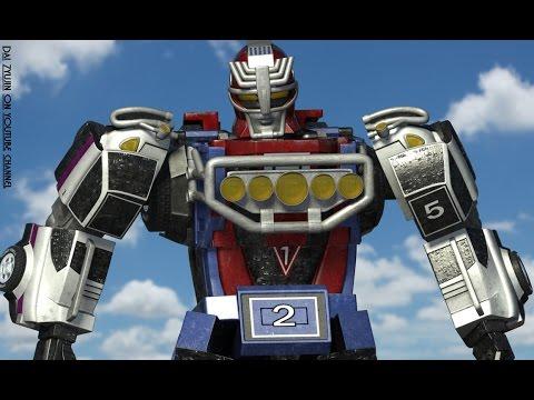 Power Rangers Megazord Robot