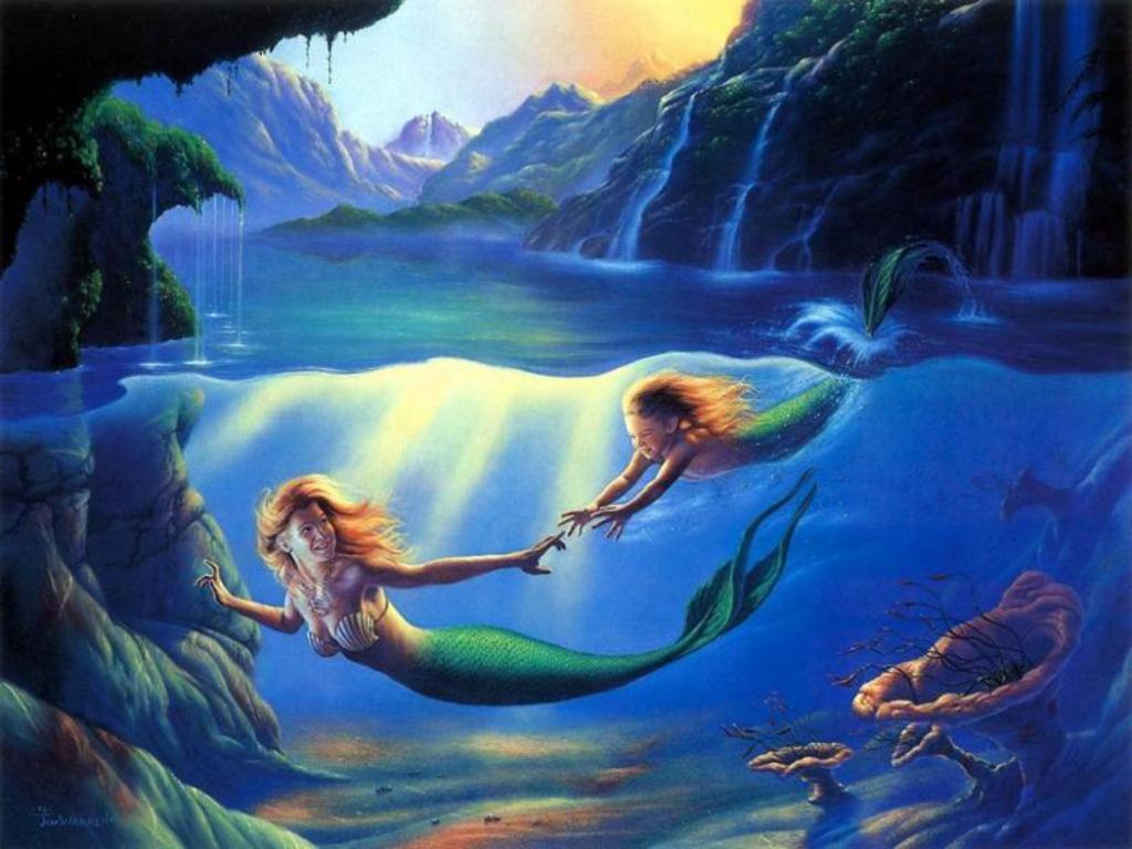 Mermaid Screensaver