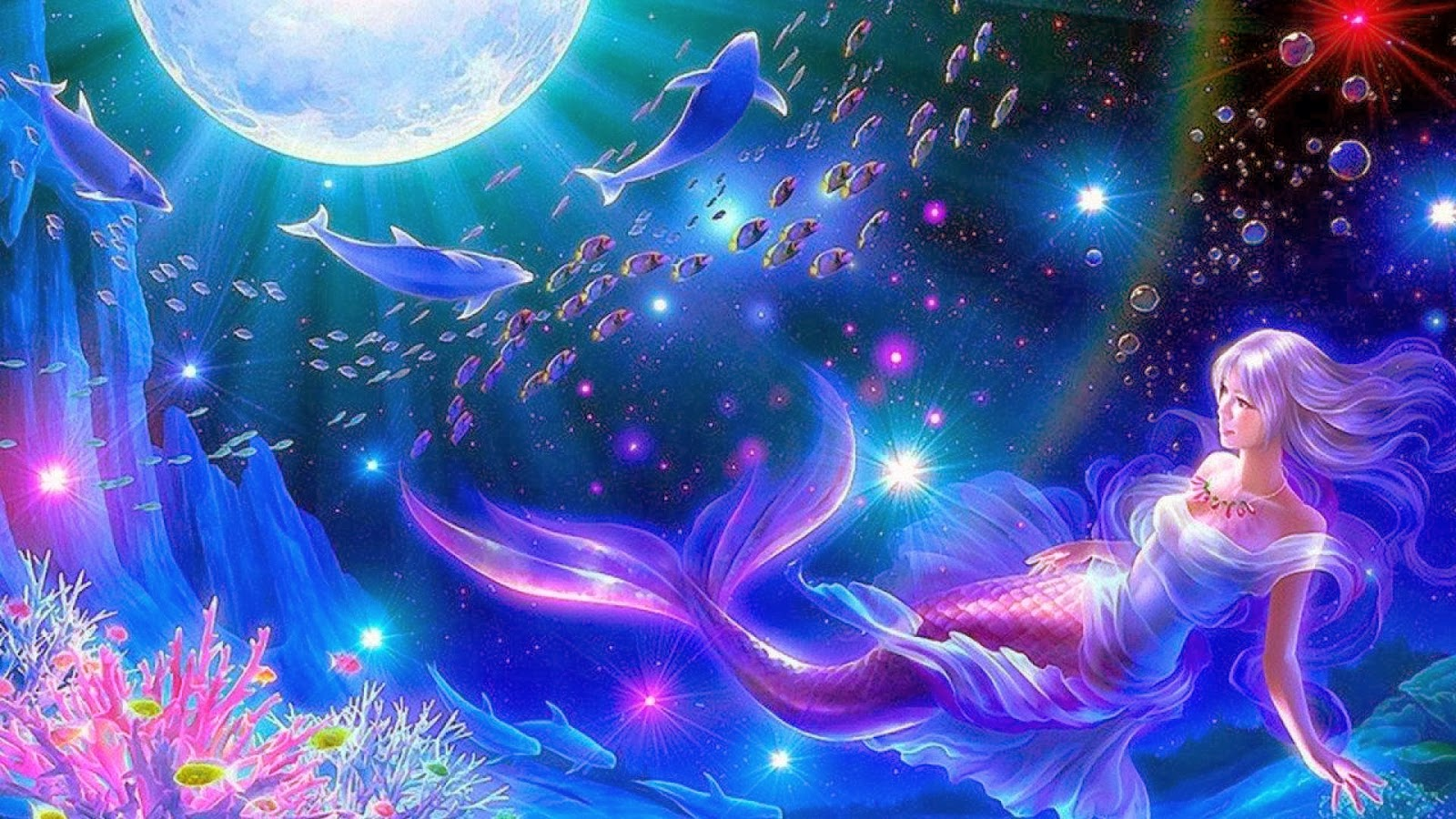 Mermaid Laptop Wallpaper