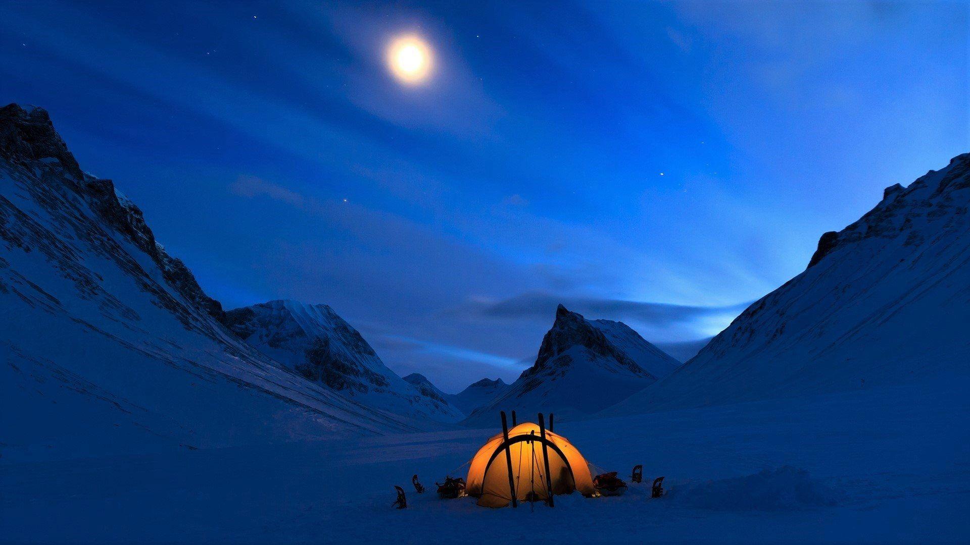 Free Desktop Backgrounds Camping