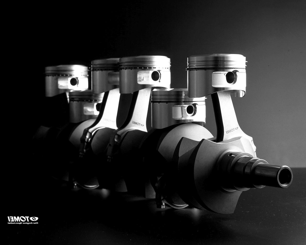 Engine Piston Wallpaper