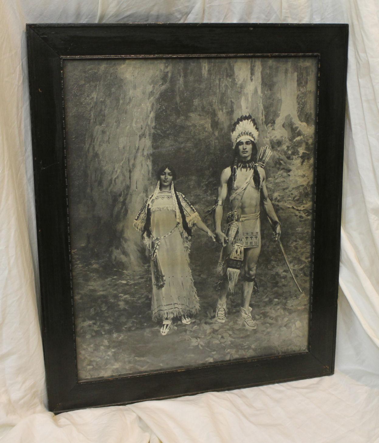 Native American Indian Prints
