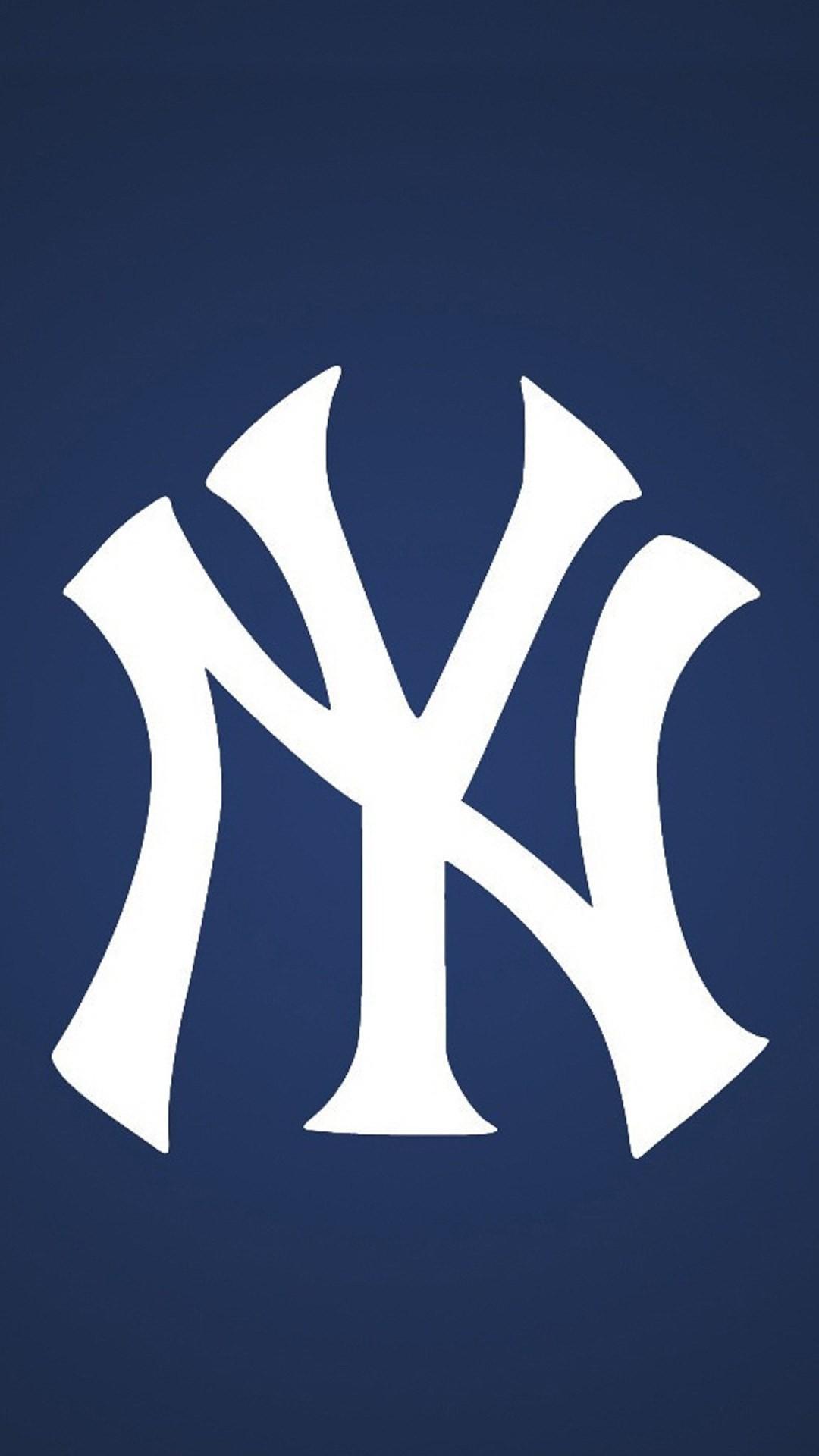 New York Yankees Logo Wallpaper