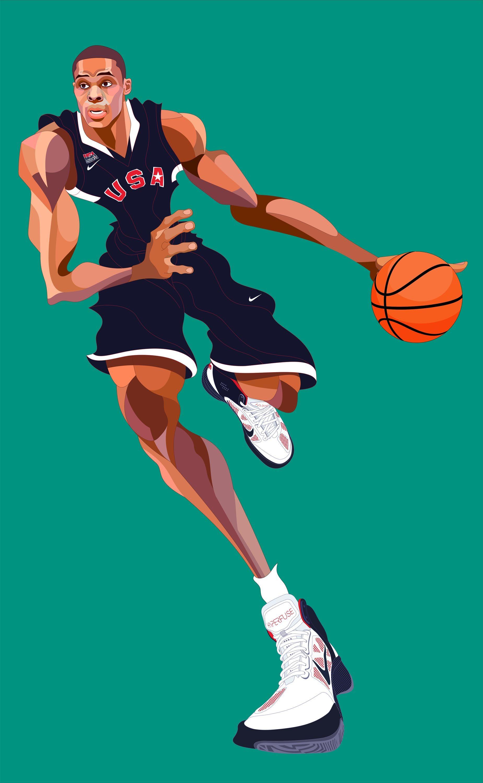 Russell Westbrook Cartoon