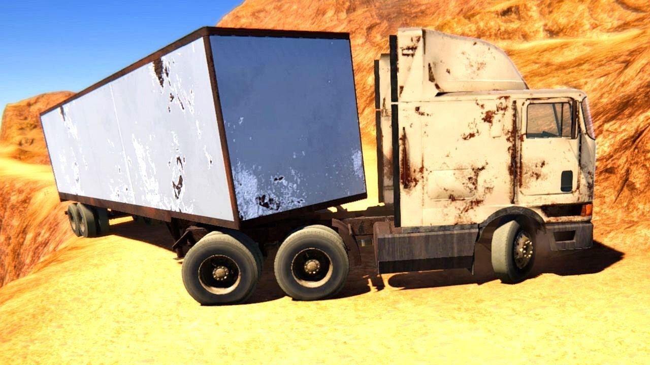 Semi Truck Mountain