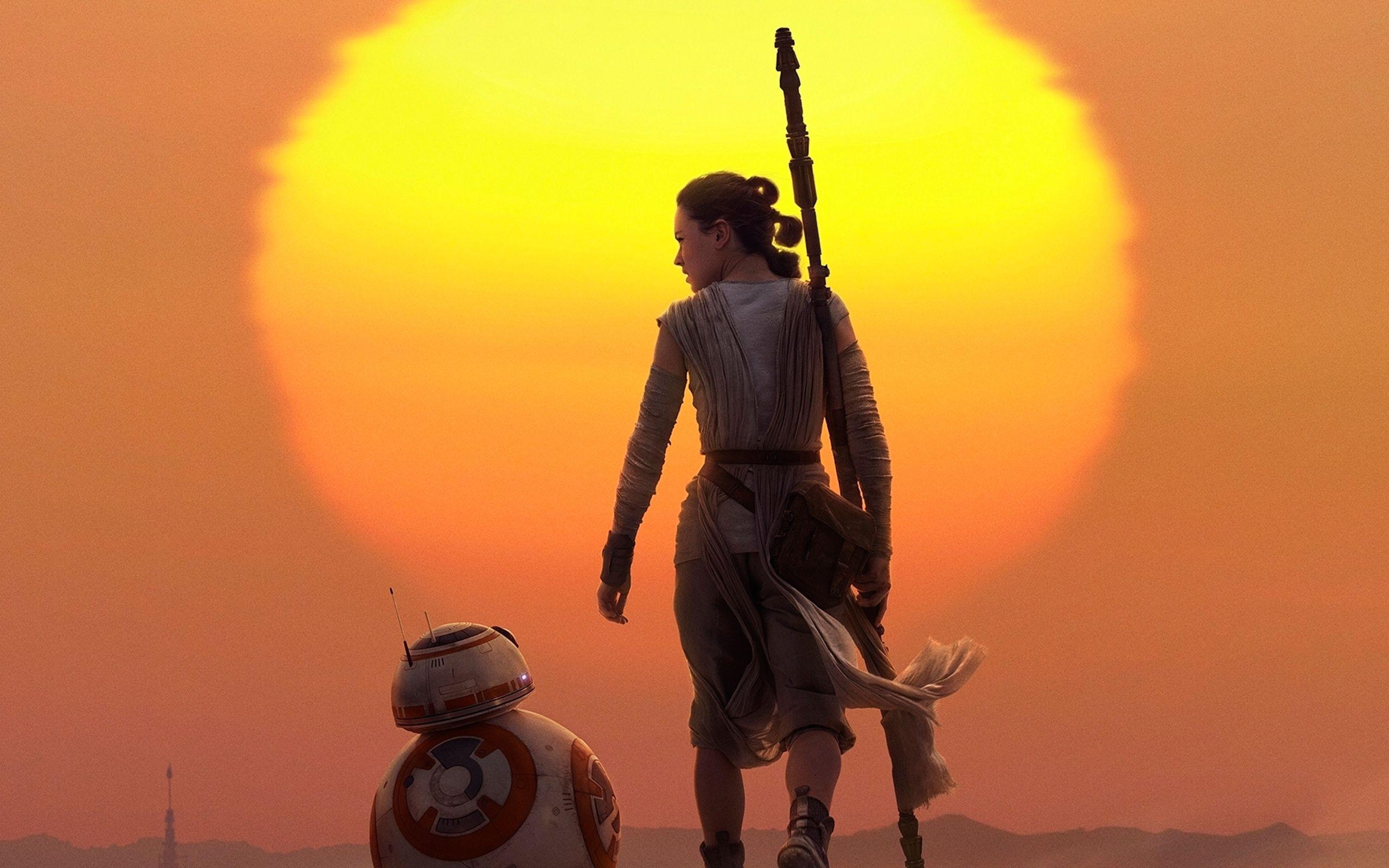 Star Wars Rey Background