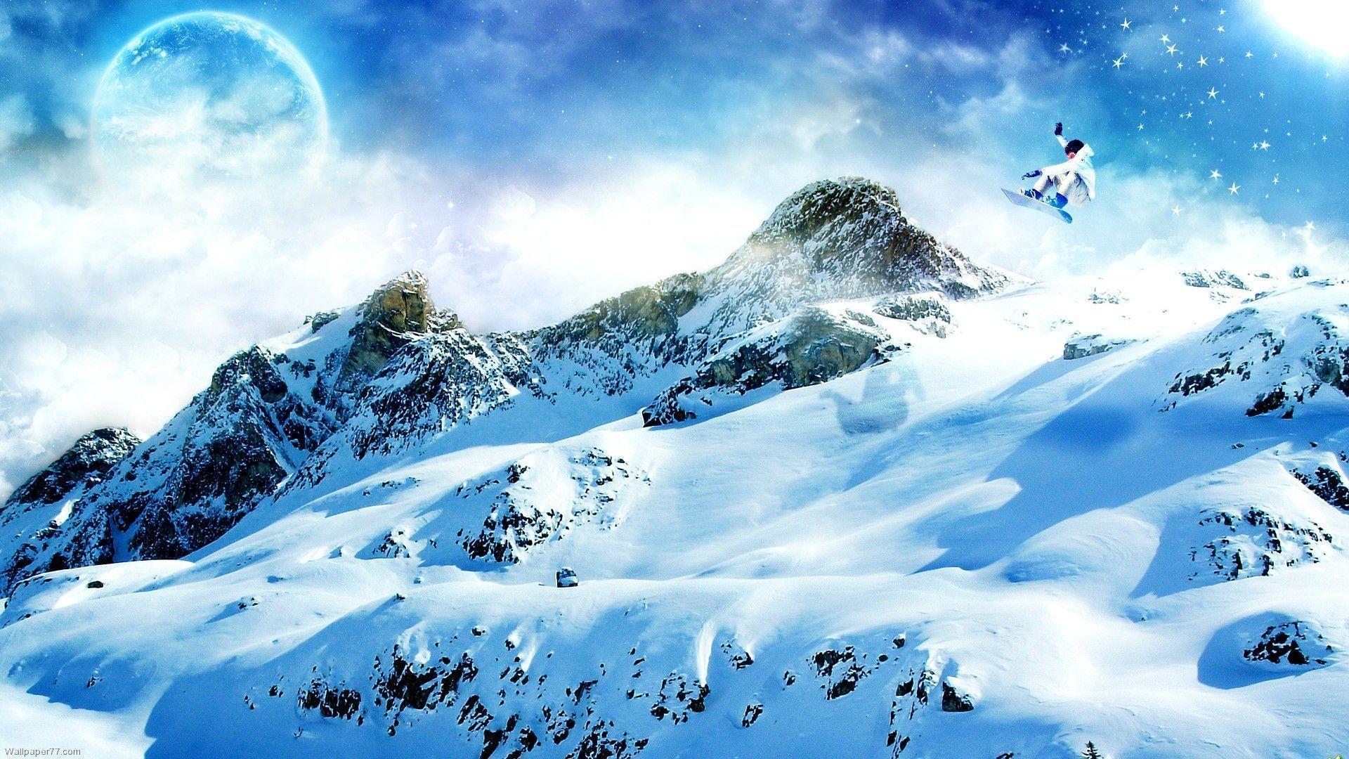 Snowboard Wallpaper HD