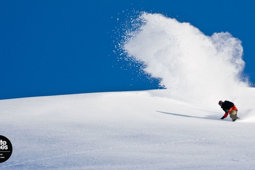 4K Snowboarding Wallpaper