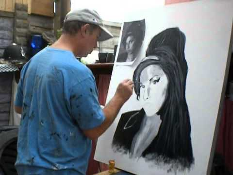 Amy Winehouse Black