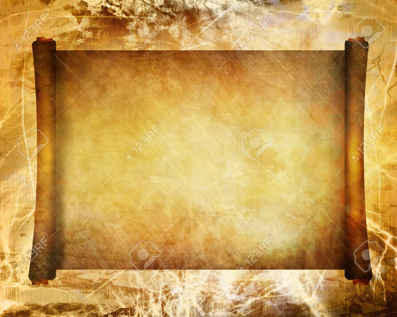 Ancient Scroll Background