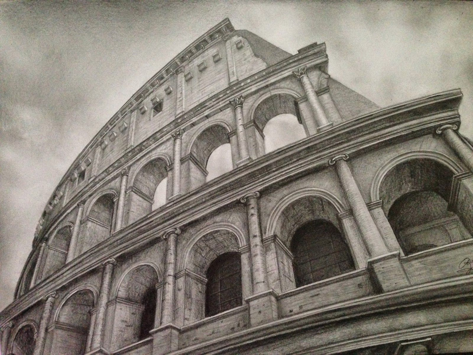 Ancient Rome Drawings