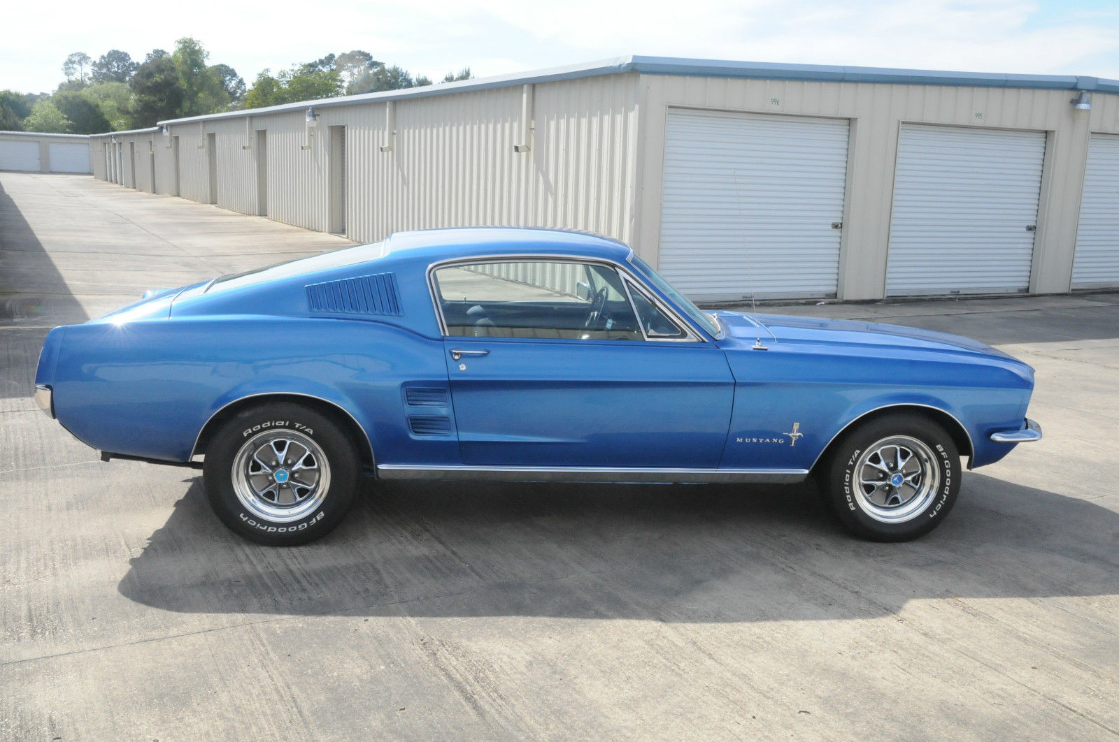 1967 Mustang Fastback Blue