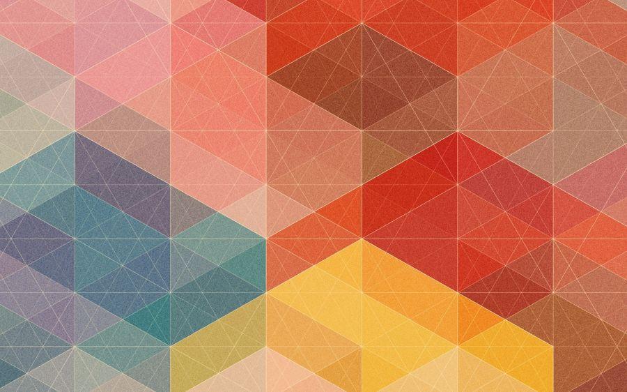 Minimalist Abstract Geometric Wallpaper