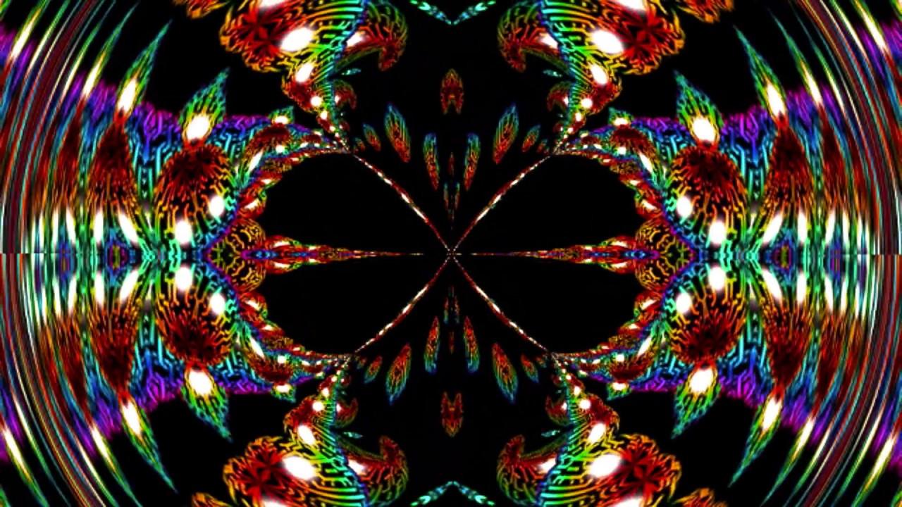 Neon Abstract Art