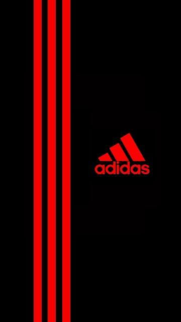 Red Adidas Wallpaper