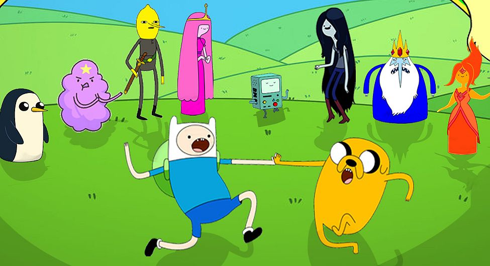 Characters From Adventure Time