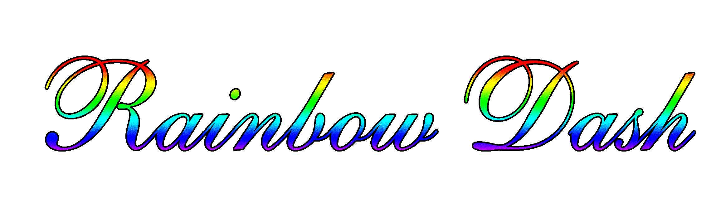 Rainbow Dash Logo