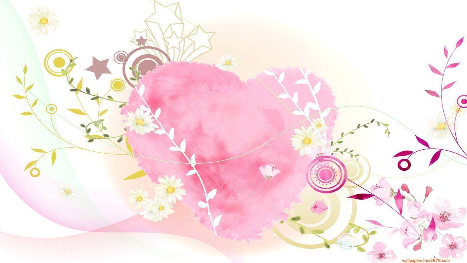 Cute Free Valentine Desktop Wallpaper