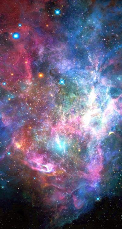 Blue Galaxy Tumblr