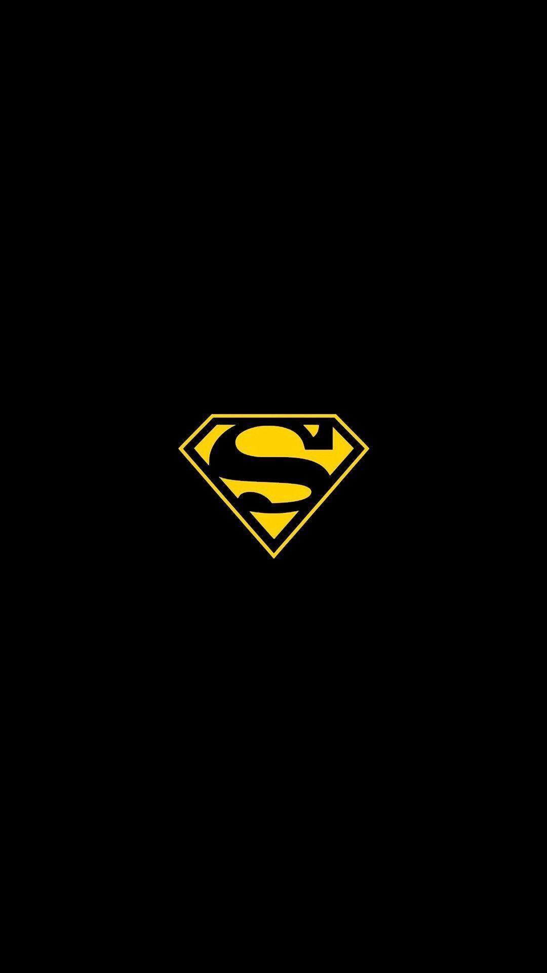 Superman Logo iPhone Wallpaper