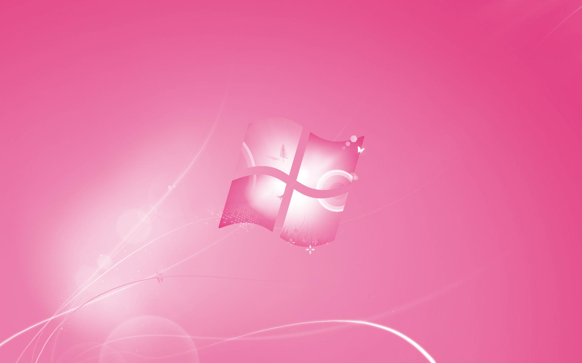 Pink HP Laptop Wallpaper