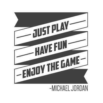 Michael Jordan Wall Quote