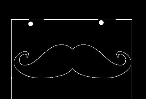 Kawaii Mustache