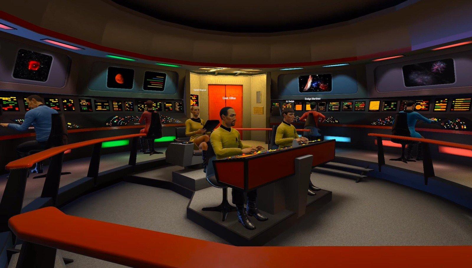 Star Trek Bridge Background