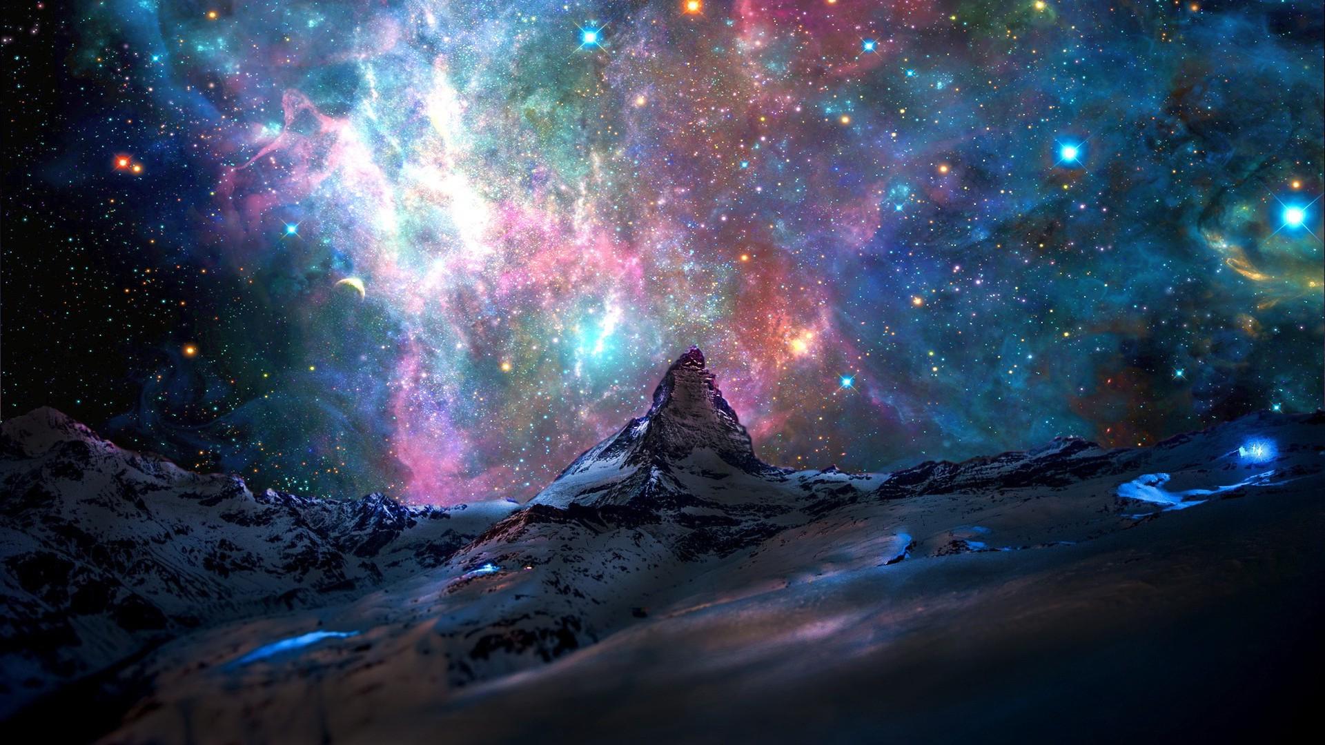 Space Stars HD Desktop Wallpaper