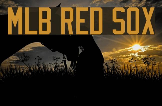 Boston Red Sox Font