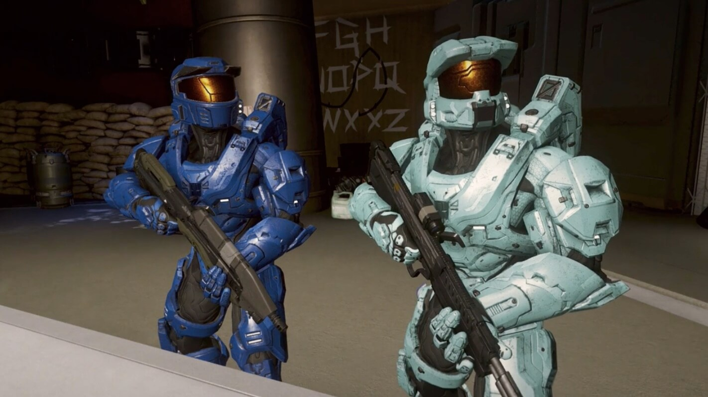 Red Vs. Blue Characters
