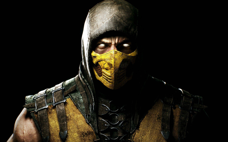 Cool Mortal Kombat Scorpion Wallpaper