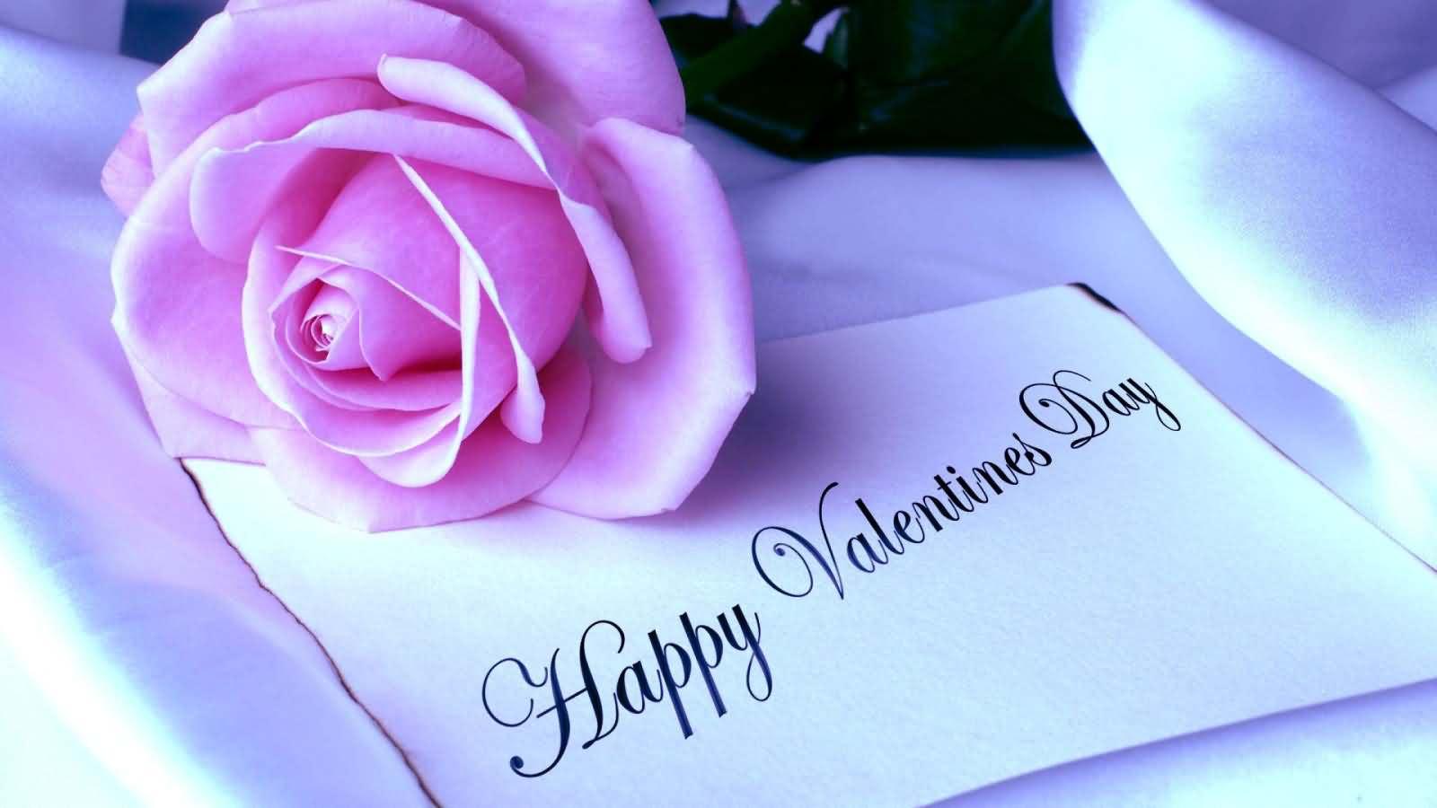 Happy Valentine Roses Wallpaper