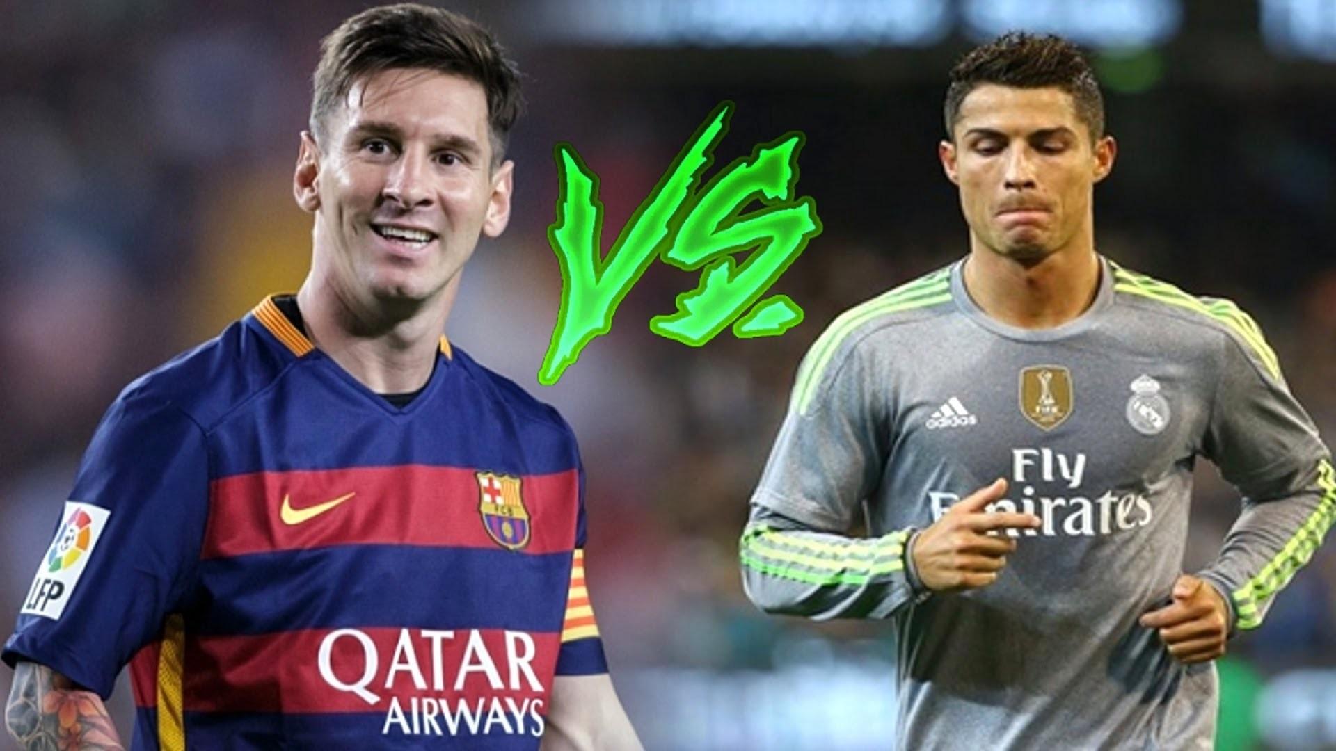 Messi vs Ronaldo Wallpaper HD