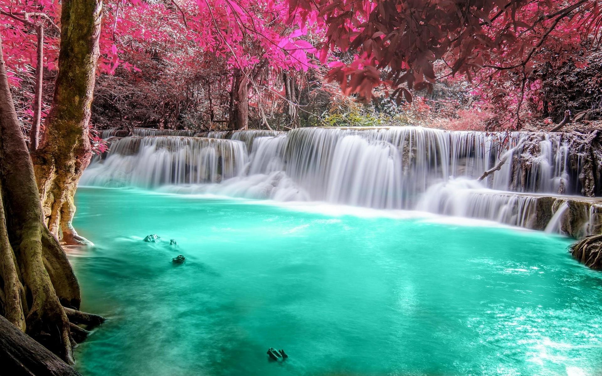 Beautiful Summer Waterfalls